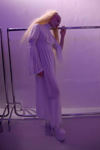 GBR: Pam Hogg - Backstage - LFW February 2020