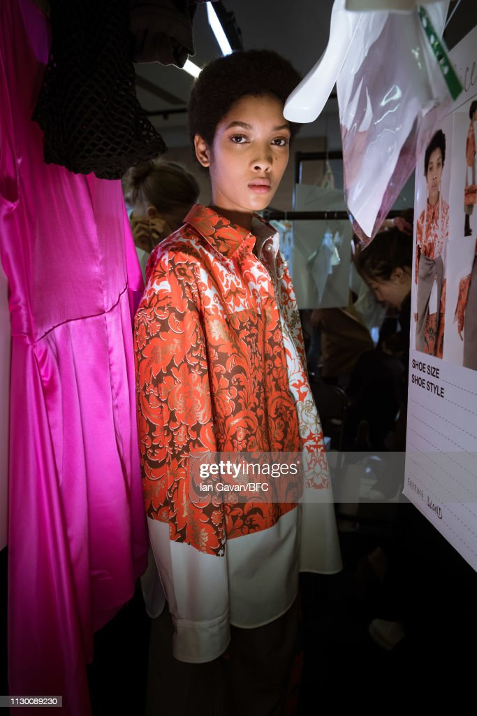 GBR: Ports 1961 - Backstage - LFW February 2019