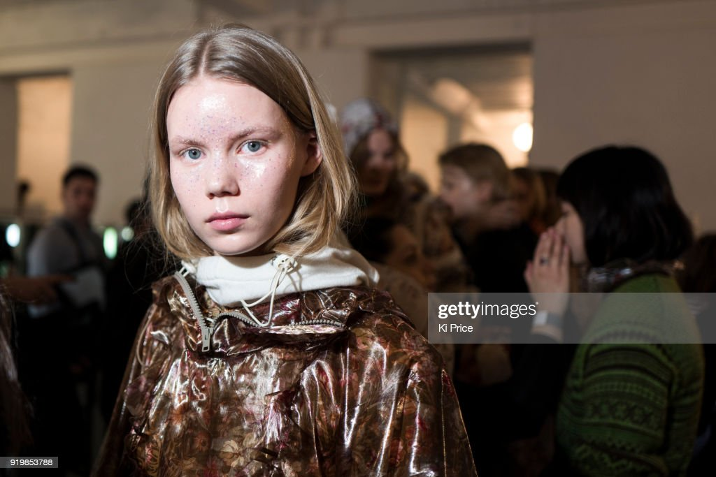 Preen by Thornton Bregazzi - Backstage - LFW February 2018
