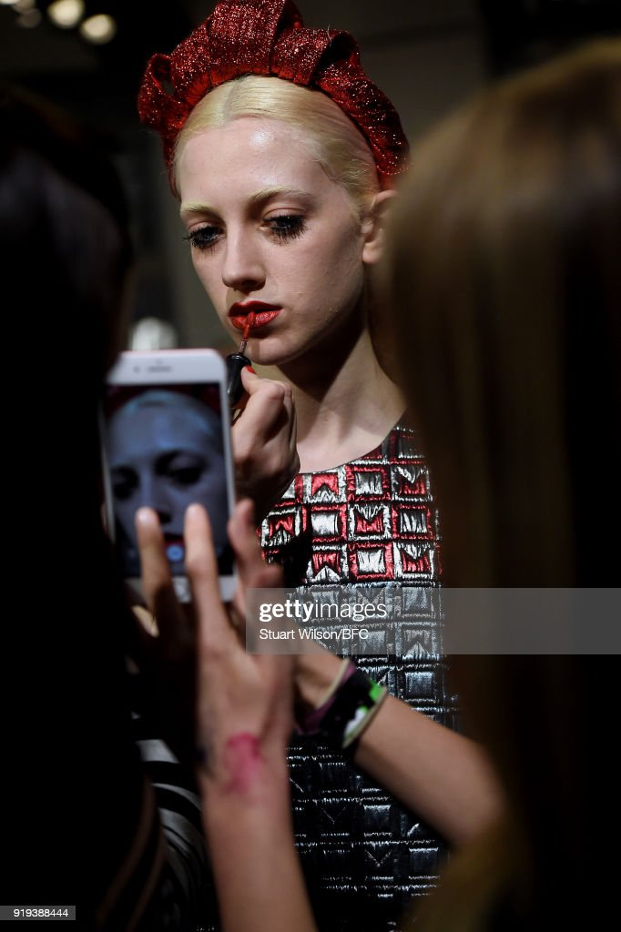 Sadie Williams Presentation - Backstage - LFW February 2018