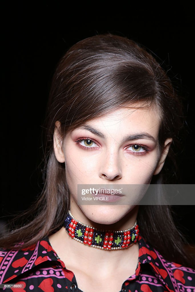 Anna Sui - Backstage - September 2016 - New York Fashion Week : Foto di attualità