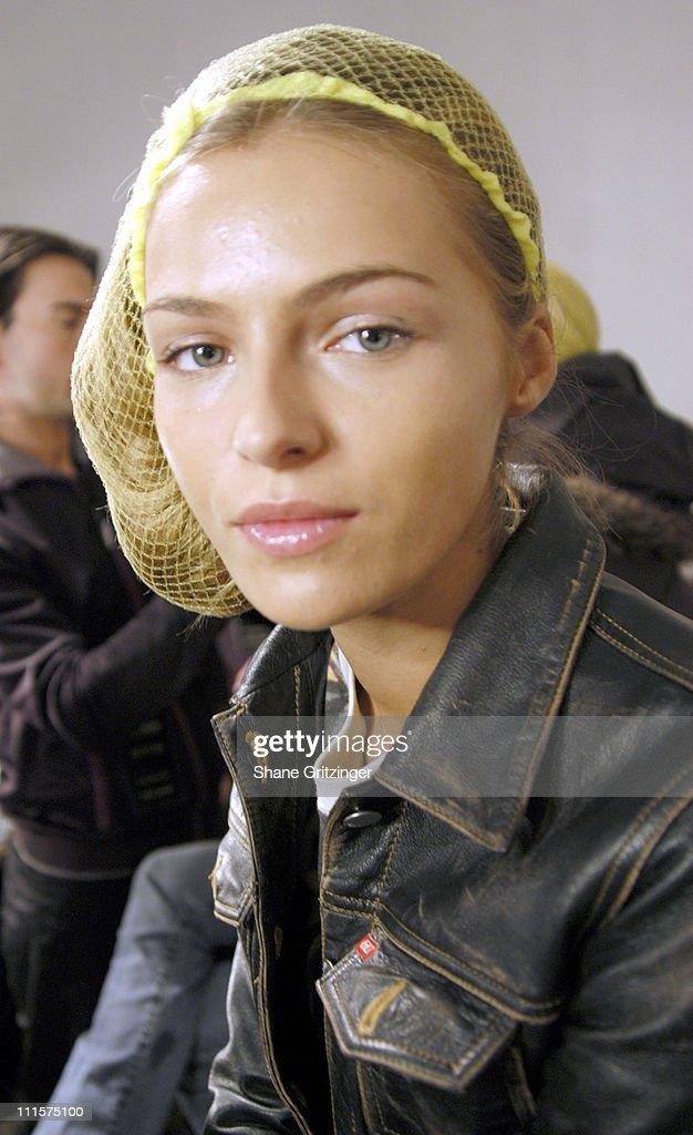 Olympus Fashion Week Fall 2005 - Roland Mouret  - Backstage