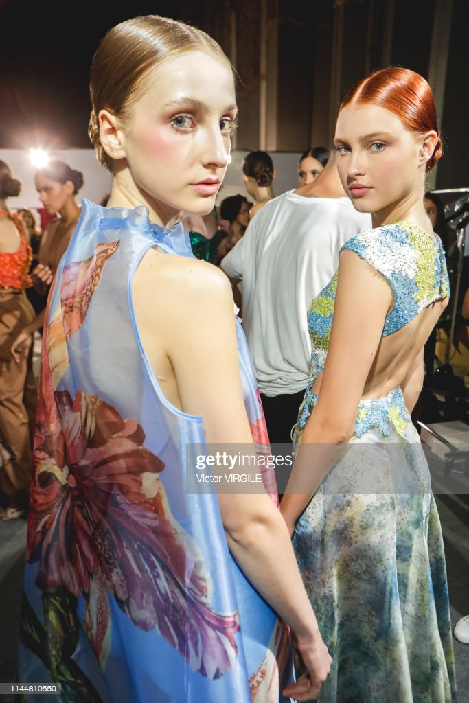 BRA: Fabiana Milazzo - Backstage - Sao Paulo Fashion Week N47 Spring/Summer 2020