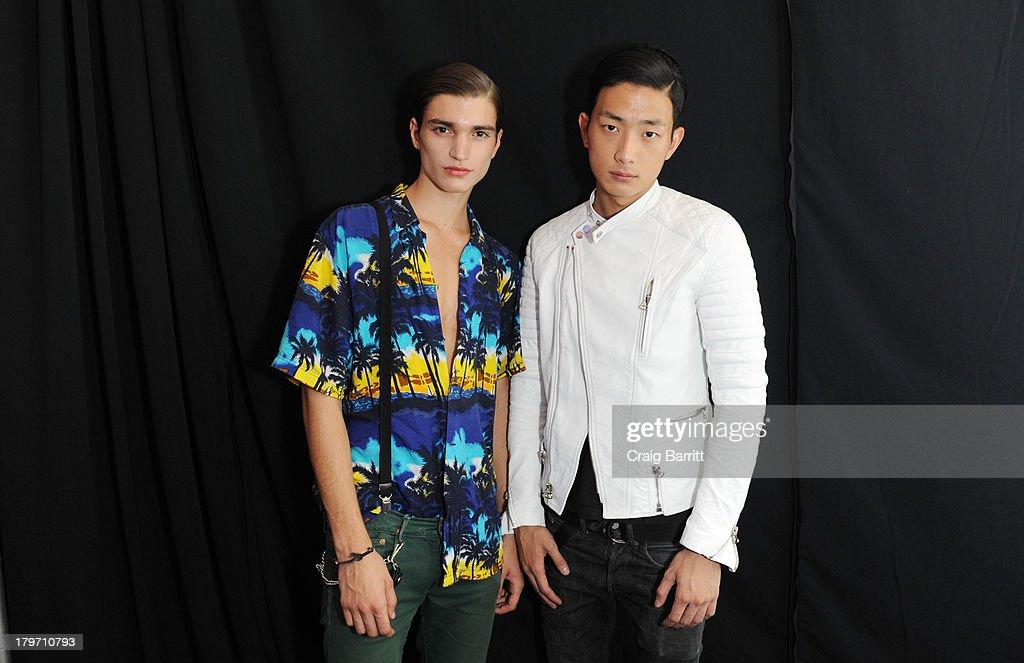 General Idea - Backstage - Mercedes-Benz Fashion Week Spring 2014 : News Photo