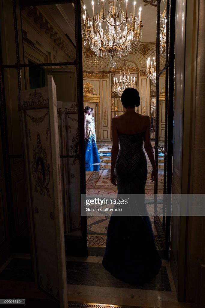 FRA: Rami Al Ali AW 18/19 Couture Presentation - Paris Fashion Week - Haute Couture Fall Winter 2018/2019