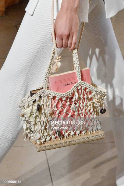 A model bag detail walks the runway during the Altuzarra show as part of the Paris Fashion Week Womenswear Spring/Summer 2019 on September 29 2018 in...