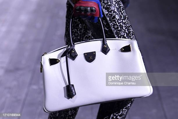 A model bag detail walks the runway during the Louis Vuitton show as part of the Paris Fashion Week Womenswear Fall/Winter 2020/2021 on March 03 2020...