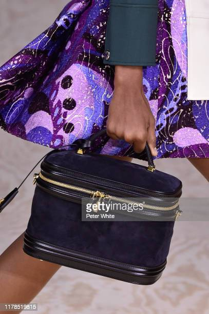 A model bag detail walks the runway during the Louis Vuitton Womenswear Spring/Summer 2020 show as part of Paris Fashion Week on October 01 2019 in...