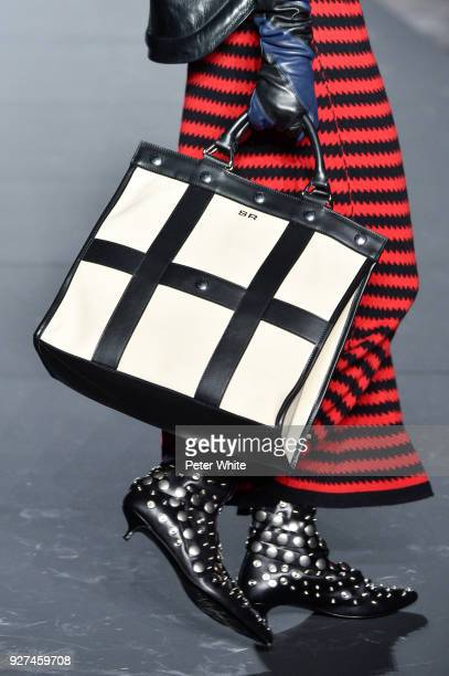 A model bag detail walks the runway during the Sonia Rykiel show as part of the Paris Fashion Week Womenswear Fall/Winter 2018/2019 on March 3 2018...