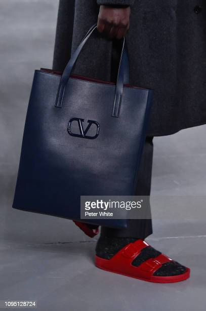 A model bag detail walks the runway during Valentino Menswear Fall/Winter 20192020 show as part of Paris Fashion Week on January 16 2019 in Paris...
