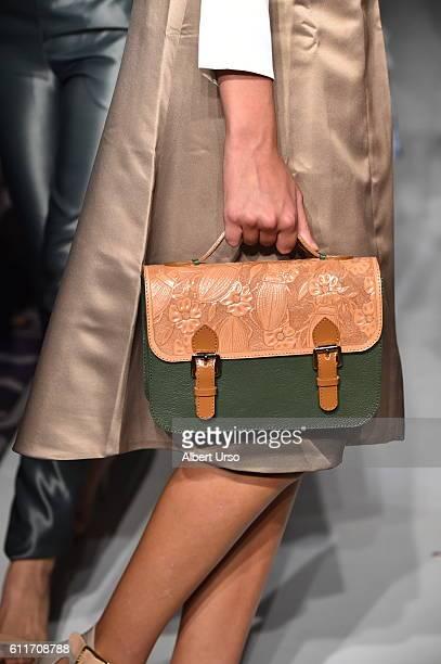 A model bag detail walks the runway wearing Daniella Batlle at the PretAPorter show during New York Fashion Week September 2016 on September 11 2016...