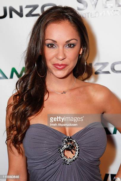 Model Bambi Lashell attends the E3 Red Carpet Launch Party at Suede at the Westin Bonaventure Hotel on June 7 2011 in Los Angeles California