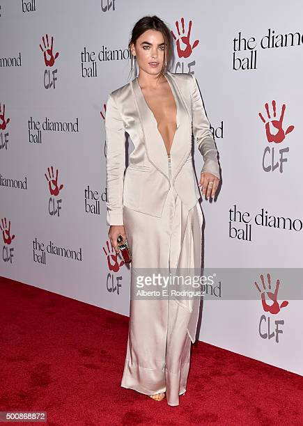 Model Bambi NorthwoodBlythe attends the 2nd Annual Diamond Ball hosted by Rihanna and The Clara Lionel Foundation at The Barker Hanger on December 10...