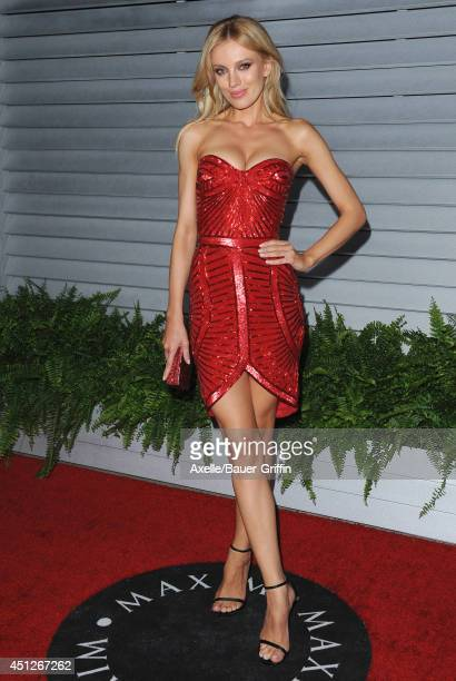 Model Bar Paly arrives at the MAXIM Hot 100 Celebration Event at Pacific Design Center on June 10 2014 in West Hollywood California