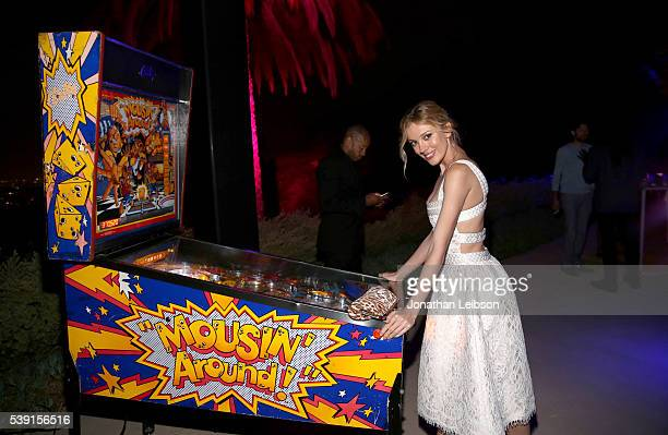 Model Bar Paly attends ALDO's Hot LA Night at a private residence on June 9 2016 in Beverly Hills California