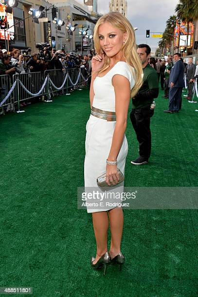 Model Bar Paly attends the premiere of Disney's 'Million Dollar Arm' at the El Capitan Theatre on May 6 2014 in Hollywood California