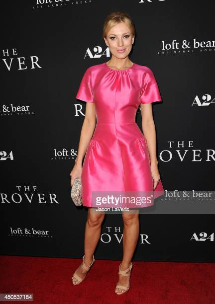 Model Bar Paly attends the premiere of The Rover at Regency Bruin Theatre on June 12 2014 in Los Angeles California