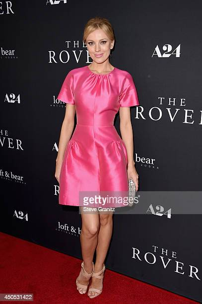 Model Bar Paly attends 'The Rover' premiere at Regency Bruin Theatre on June 12 2014 in Los Angeles California