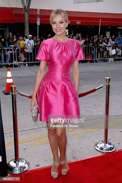 Model Bar Paly attends The Rover premiere at Regency Bruin Theatre on June 12 2014 in Los Angeles California