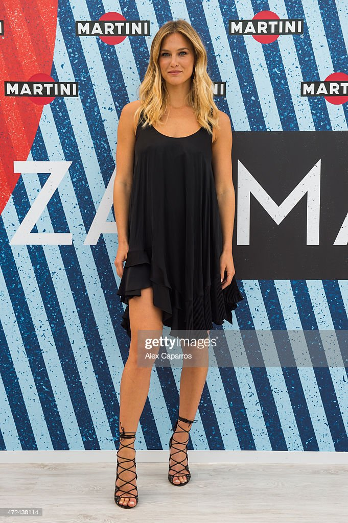 Model Bar Refaeli arrives at Terrazza MARTINI as she is announced as the global MARTINI race ambassador. The VIP party kicked off the European Formula One season in MARTINI style at Port Vell, Barcelona on Thursday 7 May 2015. Terrazza MARTINI is open throughout the Spanish Grand Prix weekend.