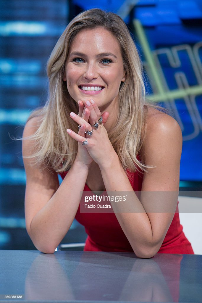 Bar Refaeli Attends 'El Hormiguero' Tv Show