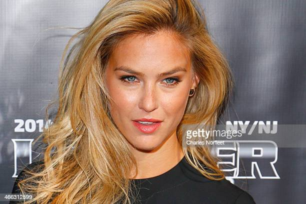 Model Bar Refaeli attends the 11th Annual Leather Laces Party at The Liberty Theatre on January 31 2014 in New York City