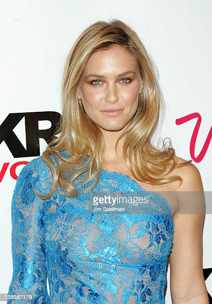 Model Bar Refaeli attends the 2012 Sports Illustrated Swimsuit Issue launch party at Crimson on February 14 2012 in New York City