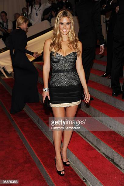 """Model Bar Refaeli attends the Costume Institute Gala Benefit to celebrate the opening of the """"American Woman: Fashioning a National Identity""""..."""