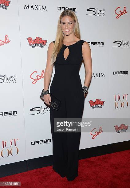 Model Bar Refaeli attends the Maxim Hot 100 Party at Dream Downtown on May 24 2012 in New York City