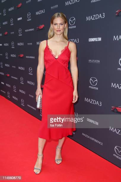 Model Bar Refaeli attends the Mazda Spring Cocktail at Sony Centre on May 23 2019 in Berlin Germany