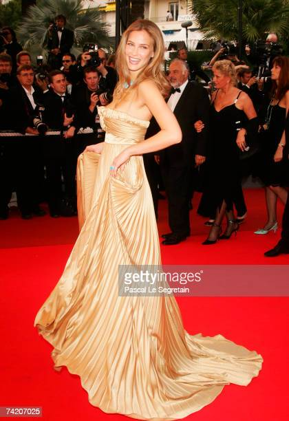 Model Bar Refaeli attends the premiere for the film A Mighty Heart at the Palais des Festivals during the 60th International Cannes Film Festival on...