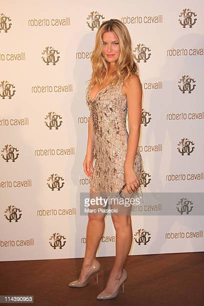 Model Bar Refaeli attends the private dinner on 'Cavalli' yacht photocall on May 18 2011 in Cannes France