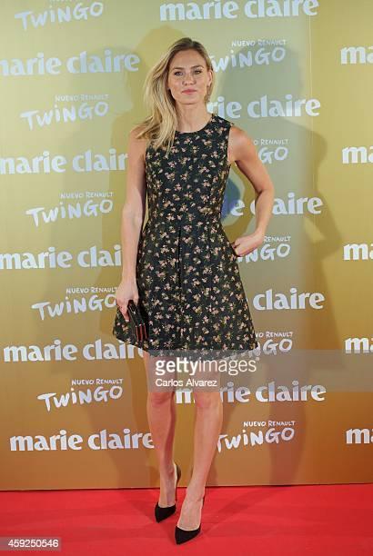 Model Bar Refaeli attends the XII Marie Claire Prix de la Moda Awards at the Callao cinema on November 19 2014 in Madrid Spain