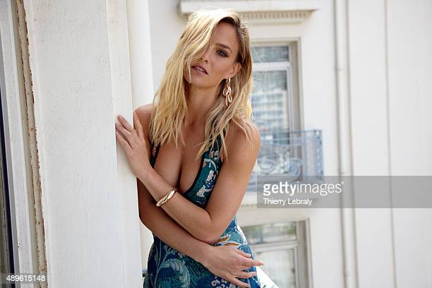 Model Bar Refaeli is photographed for Hello magazine on May 14 2015 in Cannes France
