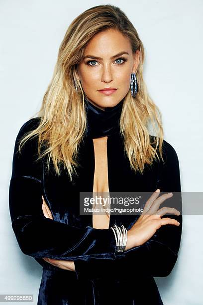 Model Bar Refaeli is photographed for Madame Figaro on May 14 2015 in Cannes France Jumper Allegra earrings and bracelet PUBLISHED IMAGE CREDIT MUST...