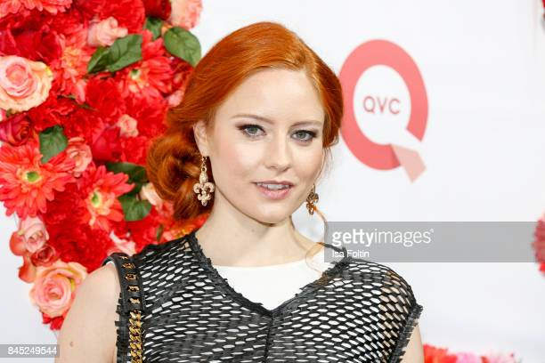 Model Barbara Meier attends a QVC event during the Vogue Fashion's Night Out on September 8 2017 in duesseldorf Germany