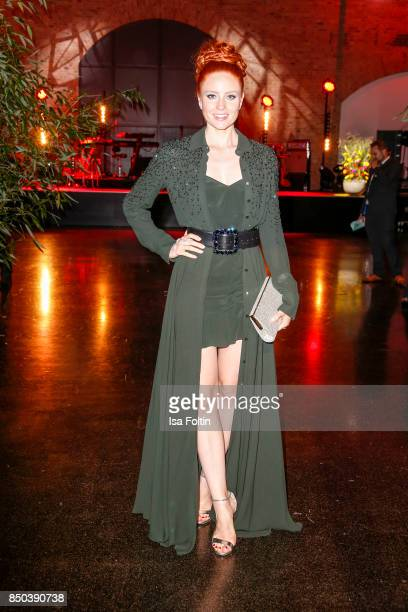 Model Barbara Meier attends the Dreamball 2017 at Westhafen Event Convention Center on September 20 2017 in Berlin Germany