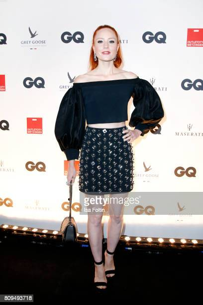 Model Barbara Meier attends the GQ Mension Style Party 2017 at Austernbank on July 5 2017 in Berlin Germany