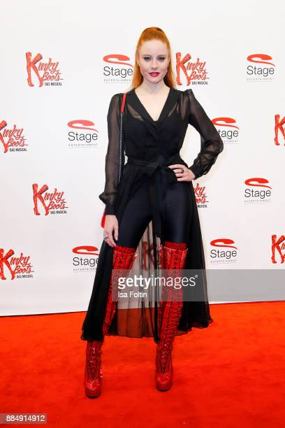 Model Barbara Meier attends the 'Kinky Boots' Musical Premiere at Stage Operettenhaus on December 3 2017 in Hamburg Germany
