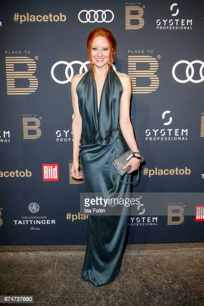 Model Barbara Meier attends the Place To Be Party after the Lola German Film Award on April 28 2017 in Berlin Germany