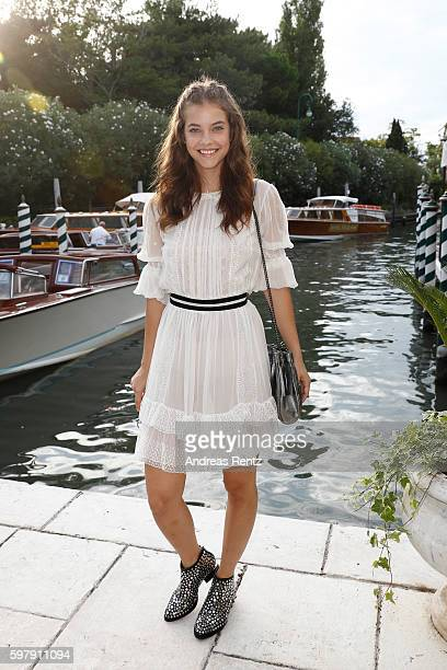 Model Barbara Palvin arrives at Lido during 73rd Venice Film Festival on August 30 2016 in Venice Ita