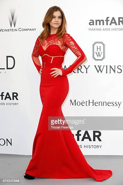 Model Barbara Palvin attends amfAR's 22nd Cinema Against AIDS Gala Presented By Bold Films And Harry Winston at Hotel du CapEdenRoc on May 21 2015 in...