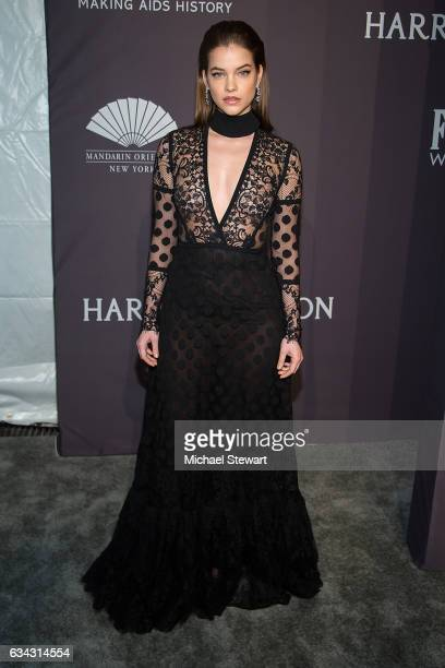Model Barbara Palvin attends the 19th Annual amfAR New York Gala at Cipriani Wall Street on February 8 2017 in New York City