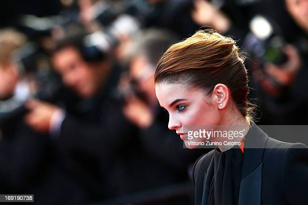 Model Barbara Palvin attends the 'Cleopatra' Premiere during the 66th Annual Cannes Film Festival at Grand Theatre Lumiere on May 21 2013 in Cannes...