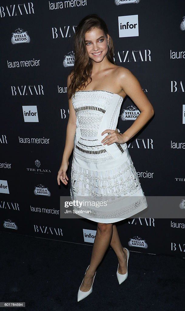 Model Barbara Palvin attends the Harper's BAZAAR celebrates 'ICONS By Carine Roitfeld' at The Plaza Hotel on September 9, 2016 in New York City.