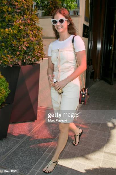 Model Barbara Palvin is seen on May 3 2018 in Paris France