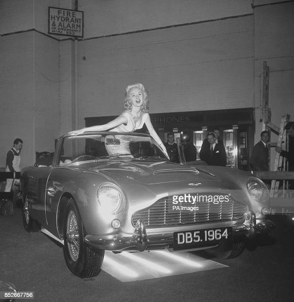 Model Barbara Roscoe With The High-performance Convertible