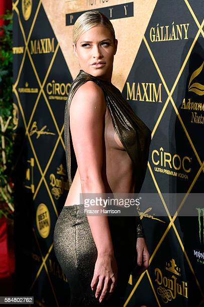 Model Barbie Blank attends the 2016 MAXIM Hot 100 Party at the Hollywood Palladium on July 30 2016 in Los Angeles California