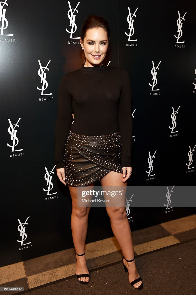 Model Beau Dunn attends the YSL Beauty Club Party at the Ace Hotel on January 10, 2017 in Downtown Los Angeles, California.