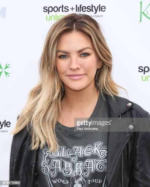 Model Becca Tilley attends the Kusewera celebrity basketball game at Notre Dame High School on November 12 2017 in Sherman Oaks California